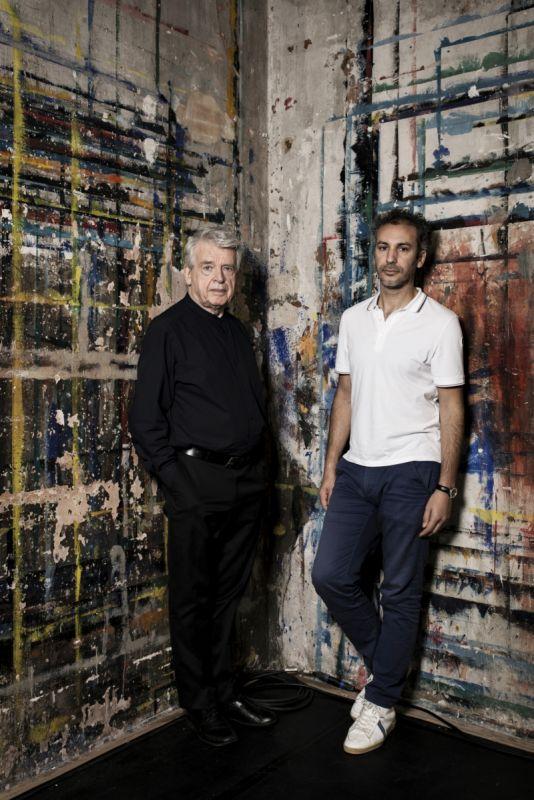 conversation (Mohammed El Khatib et Alain Cavalier) - 01.jpg
