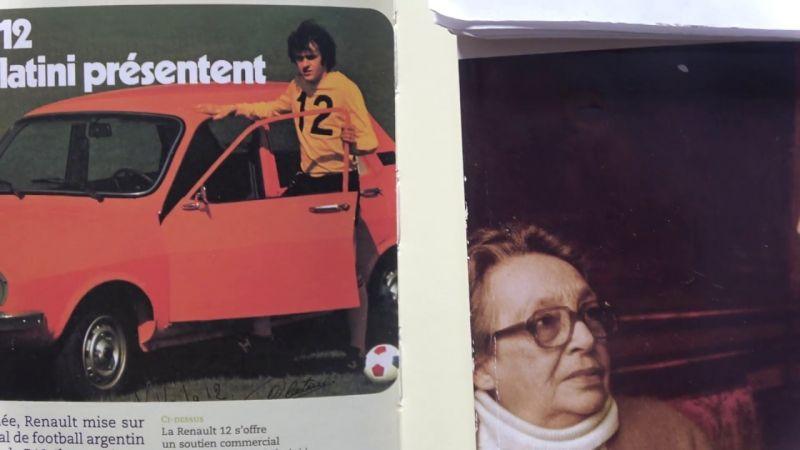 Marguerite Duras & Michel Platini