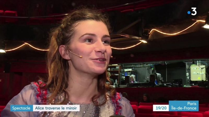 Alice traverse le miroir   France3 Ile de France